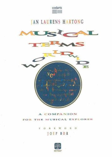 9788877780904: Musical Terms Worldwide: A Companion for the Musical Explorer (Codarts Research)