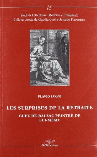 Les surprises de la retraite. Guez de: Luoni, Flavio;Balzac, Honoré