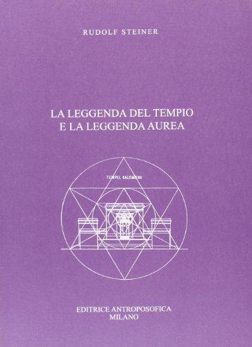 9788877872463: La leggenda del tempio e la leggenda aurea