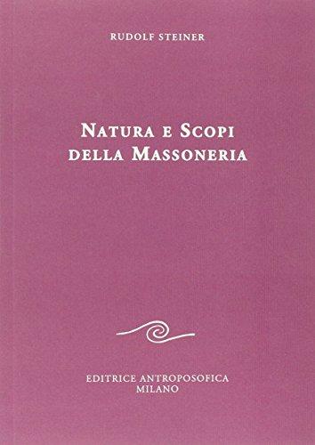 9788877875372: Natura e scopi della massoneria