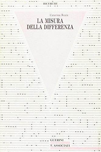 La misura della differenza. Saggi su Heidegger.: Resta,Caterina.
