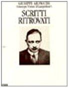 Scritti ritrovati (Saggi) (Italian Edition) (8878040800) by Tomasi di Lampedusa, Giuseppe