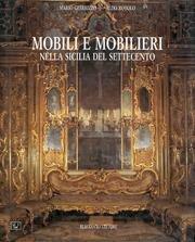 9788878040816: Mobili e mobilieri nella Sicilia del Settecento