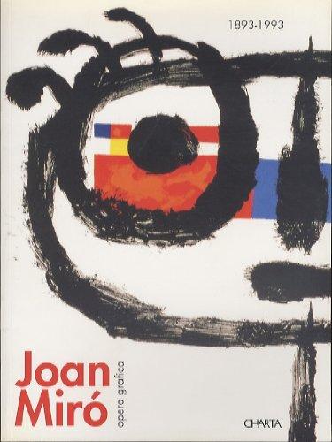 9788878134829: Joan Miro - 1893-1993 (Spanish Edition)