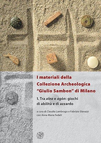 9788878146242: I materiali della collezione archeologica «Giulio Sambon» di Milano. Con CD Audio: 1