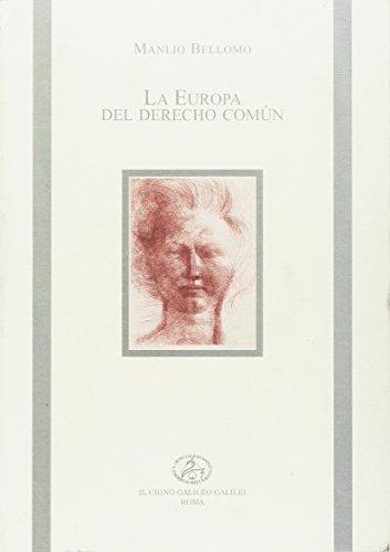 9788878310476: La Europa del derecho comun (I libri di Erice)
