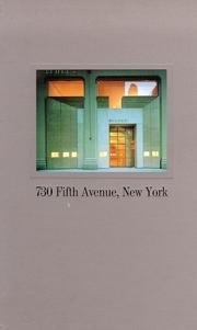 730 Fifth Avenue, New York.: Goldberger, Paul &