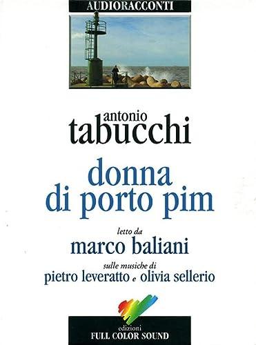 9788878460164: Donna di Porto Pim. Audiolibro. CD Audio