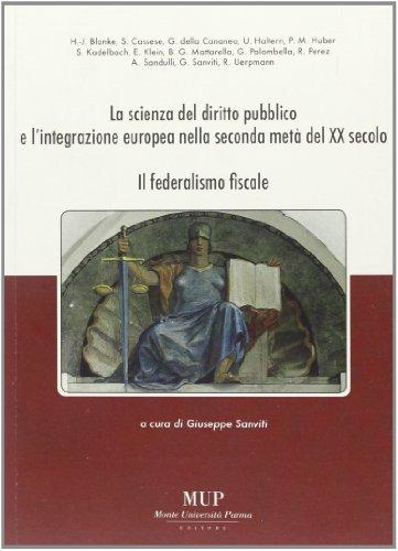 La scienza del diritto pubblico e l