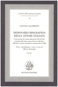 9788878704107: Dizionario biografico degli attori italiani