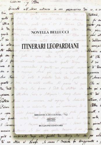 9788878706682: Itinerari leopardiani