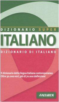 9788878870369: Dizionario italiano (Dizionario Super)