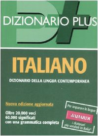 9788878871335: Dizionario italiano (Dizionari plus)