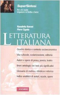 Letteratura italiana: Cigada, Piero; Baroni,