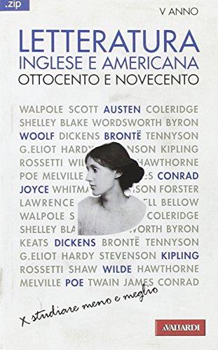 Letteratura inglese e americana. Ottocento e Novecento: laura Salvai