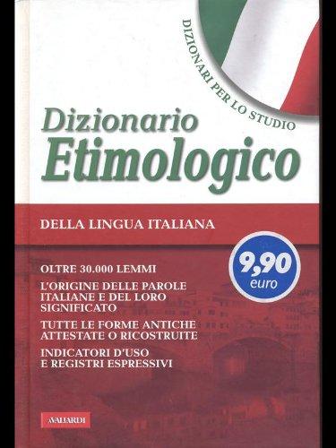 9788878878587: Dizionario etimologico. Studio. (GDO)