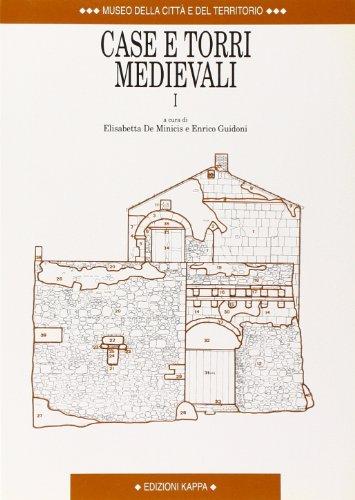 9788878902343: Case e torri medievali: Atti del II Convegno di studi