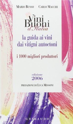 9788879060790: Vini buoni d'Italia 2006