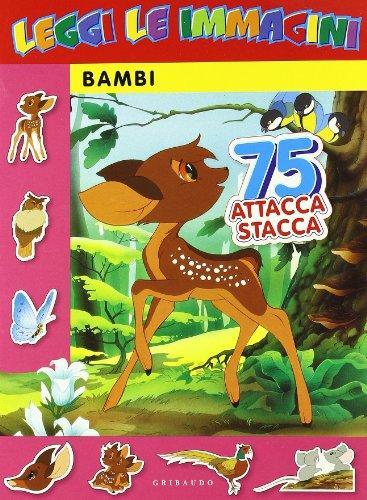 9788879067928: Bambi. Leggi le immagini. Con adesivi. Ediz. illustrata