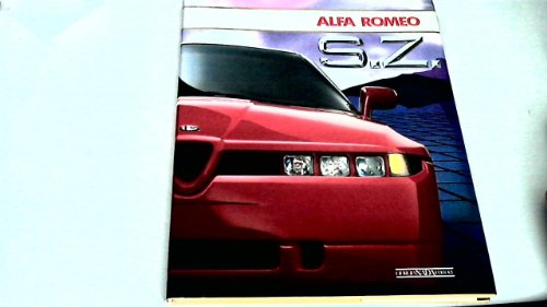 9788879110143: Alfa Romeo SZ. Ediz. inglese