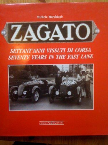 9788879110211: Zagato: Seventy Years in the Fast Lane