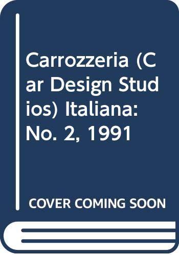 9788879110464: Carrozzeria italiana: No. 2, 1991