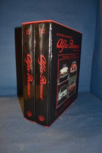 9788879111676: Alfa Romeo. Le vetture di produzione (1910-1996). Ediz. italiana e inglese