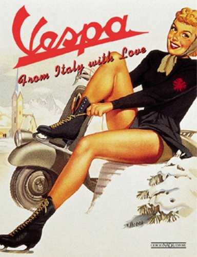 9788879112222: Vespa : From Italy with Love