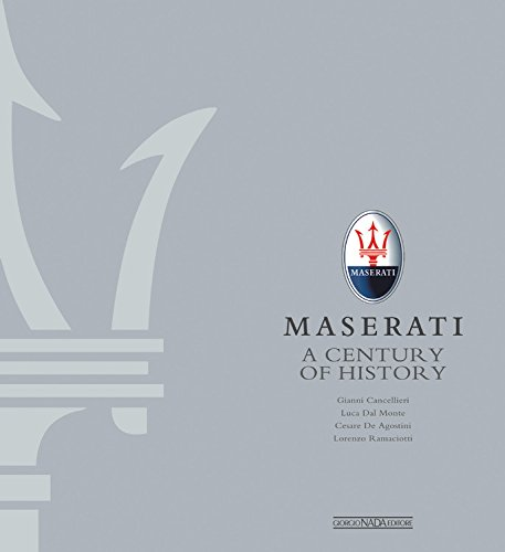 9788879115735: Maserati: A Century of History The Official Book