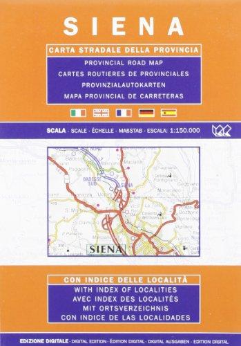 Provincial Map Siena (Italian Edition): Litografia Artistica Cartografica (LAC)