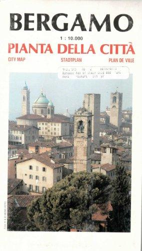 9788879140775: Bergamo City Plan (English, Spanish, French, Italian and German Edition)