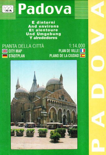 9788879141321: Padova City Plan 1:14, 000 Scale Fully Indexed: With Neighbouring Communes (Italian Edition)