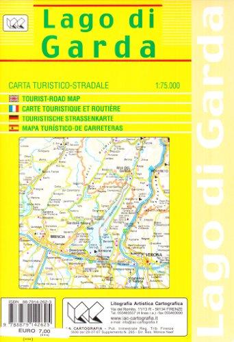 9788879142625: Lago di Garda 1:75.000