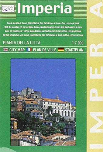 9788879142830: Imperia. Pianta della città 1:7.000: With Cervo, Diano Marina, San Bartolomeo Al Mare and San Lorenzo Al Mare (Carte stradali)