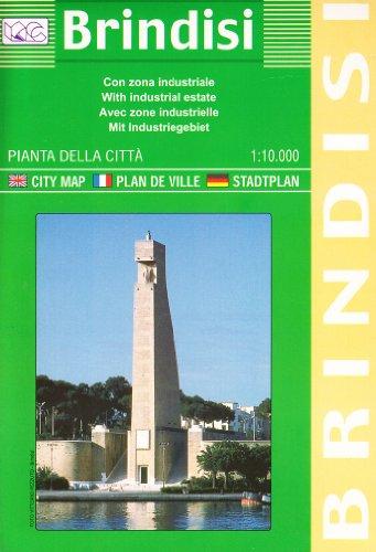 9788879143011: Brindisi. Pianta della città 1:15.000: City Maps (Carte stradali)