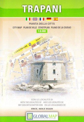 9788879143325: Trapani 1:8.000 (Carte stradali)