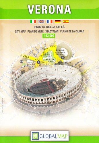 9788879143844: Verona, Italy City Map (Italian Edition)