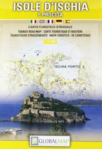 Topographische Karte Isola d'ischia 1:14000