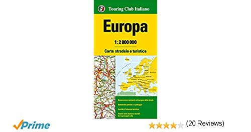 Carta Murale Europa politica [riferimento 13].