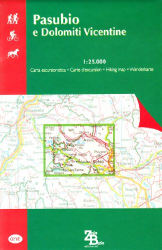 9788879148030: Pasubio E Dolomiti Vicentine: Walking Maps