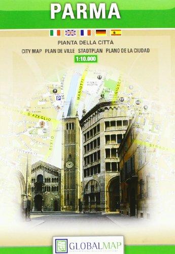 9788879148337: Parma, Italy - City Map (English, Spanish, French, Italian and German Edition)