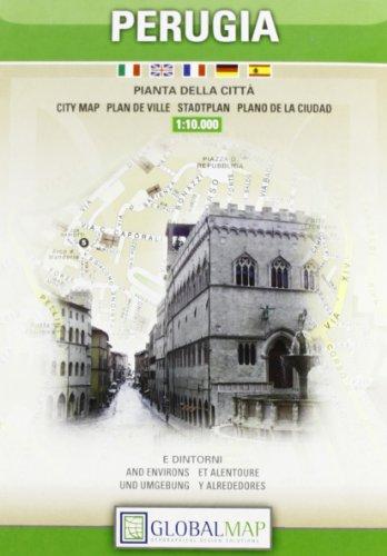 9788879149129: Perugia 1:10.000
