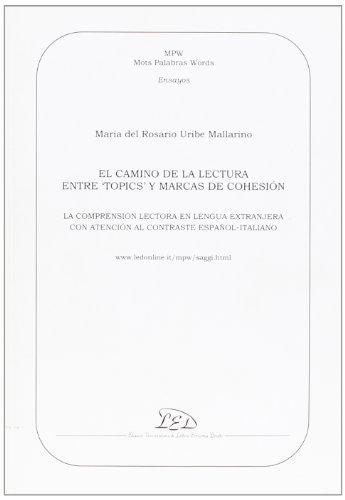 Camino de la lectura entre topics y: Uribe Mallarino, Maria