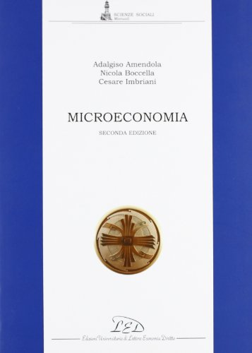 9788879162883: Microeconomia