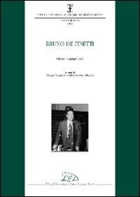 9788879164207: Bruno de Finetti (Istituto Lombardo Accademia di Scienze e Lettere. Incontri di Studio)