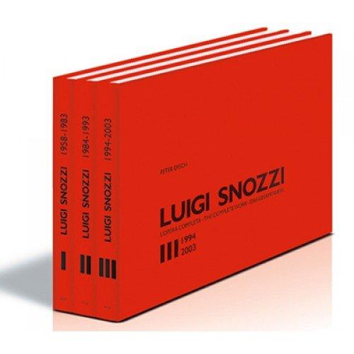 Luigi Snozzi. L'opera completa. Ediz. italiana, inglese: Peter Disch