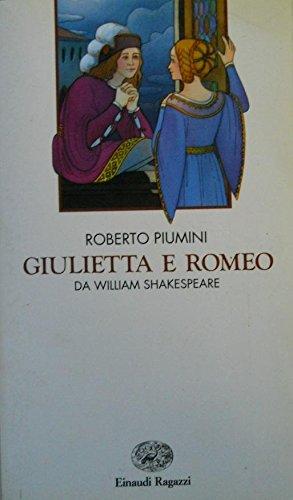 9788879260794: Giulietta e Romeo