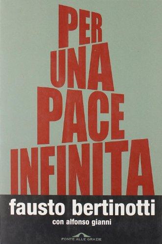 9788879285032: Per una pace infinita