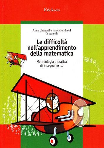 Le difficoltà nell'apprendimento della matematica. Metodologia e