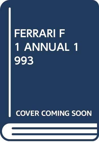 9788879600507: FERRARI F1 ANNUAL 1993